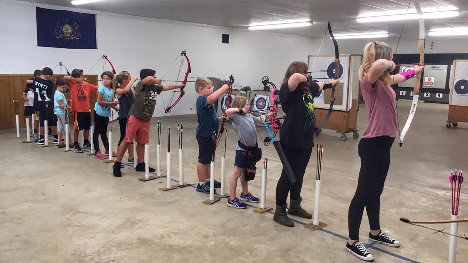 Stowe Archers Free Youth Archery Program