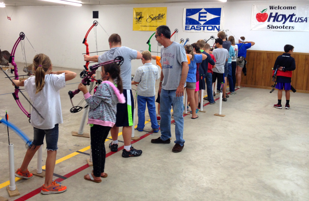 Stowe Archers Youth Group - Sept 22 2014 - 2