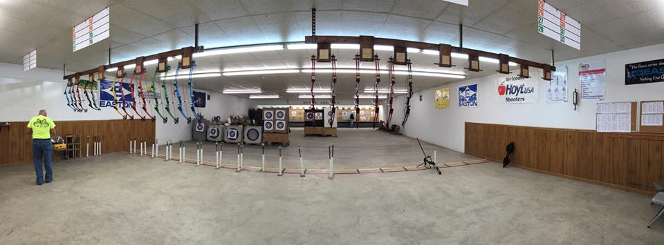 Stowe Archers - Monday Night Youth Program - Indoor Range