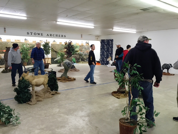 Curt Peterson Southeast PA Indoor 3D - Stowe Archers - January 2015