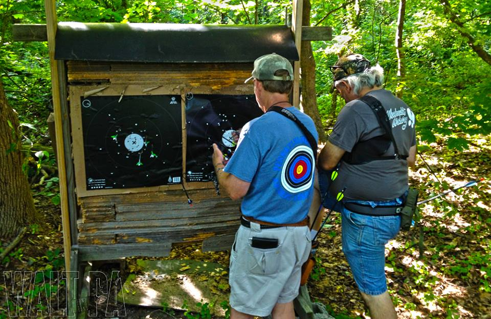 Randy and Troy Score Targets during the 2014 Field / Hunter League