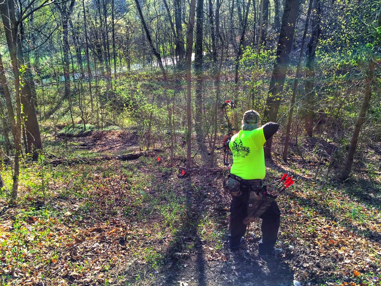 Stowe Archers April 3D Shoot - 1