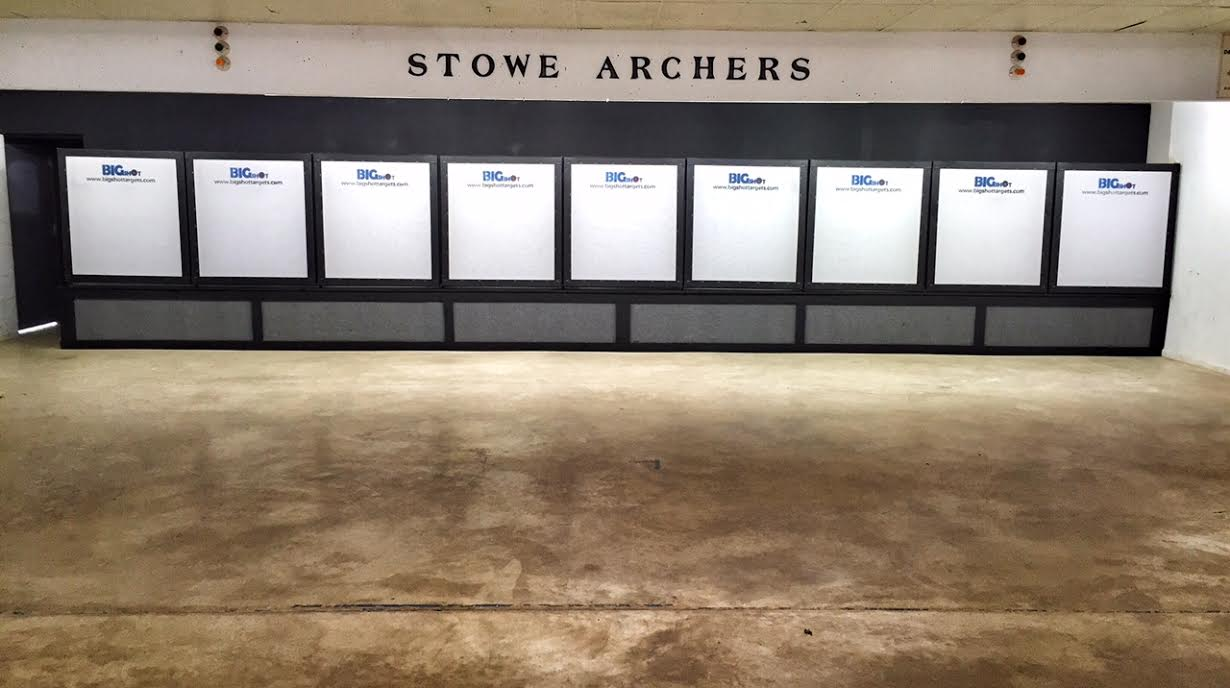 Big Shot Targets at Stowe Archers