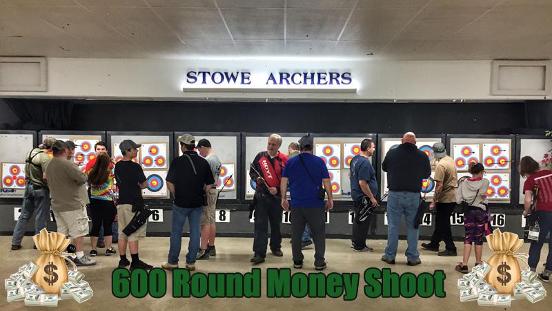 Stowe Archers 600 Round Money Shoot